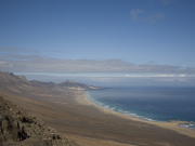 Cofete Beach, west coast of Fuerteventura. Photo by Nick Haslam