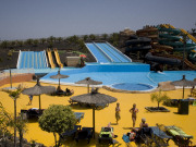 Slide at Baku Aquatic Park on Fuerteventura. Photo by Nick Haslam
