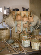 Baskets at Ecomuseo de La Alcogida, Fuerteventura. Photo by Nick Haslam