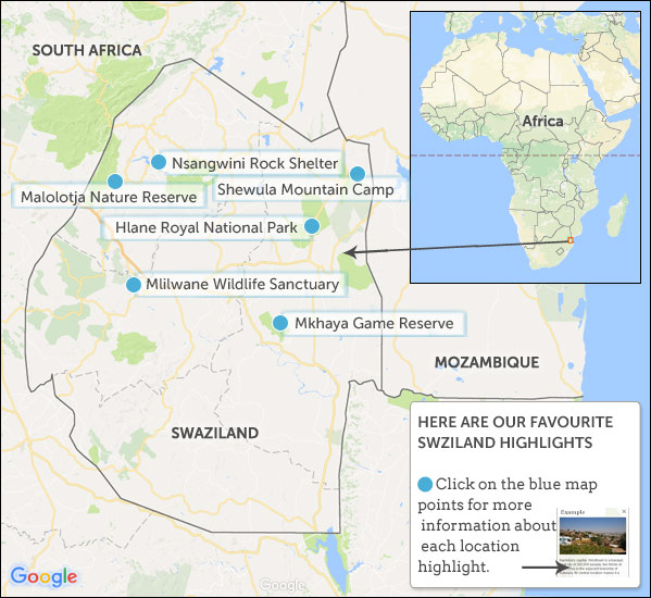 Swaziland travel guide Helping Dreamers Do