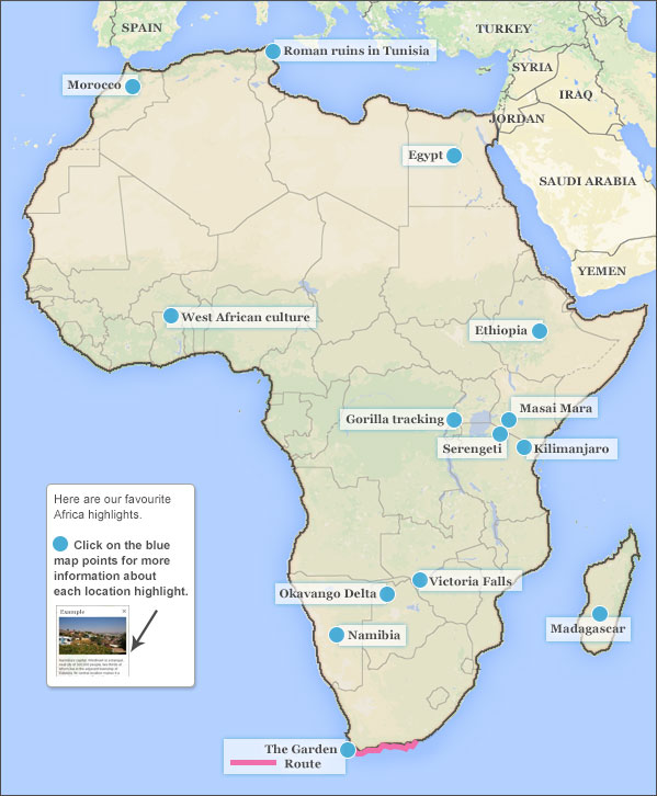 Where to go in Africa Responsible Travel guide to where to go in Africa