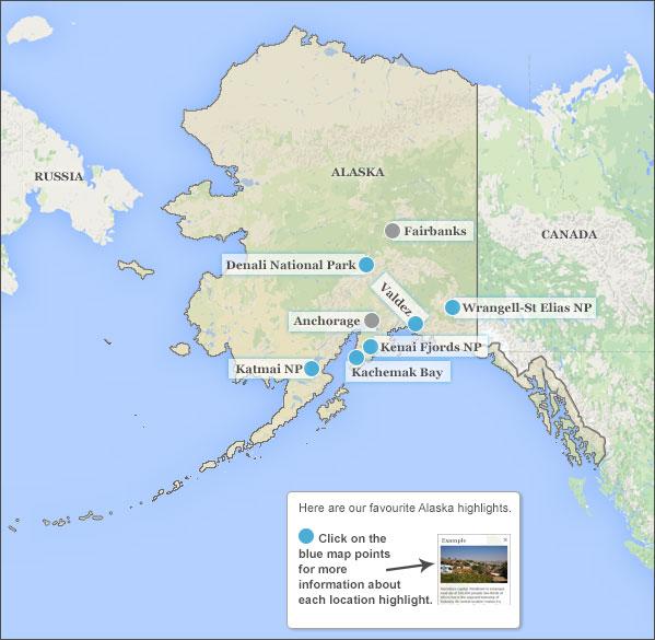 Alaska vacations travel guide