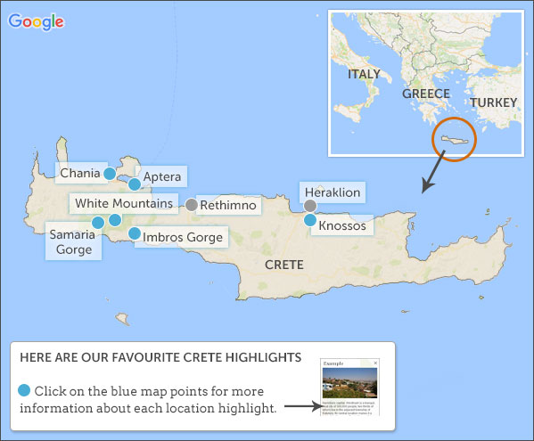 Crete travel guide Responsible travel guide to Crete