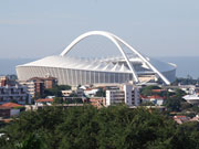 Durban stadium, KwaZulu-Natal. Photo by Richard Madden.