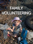Family volunteering