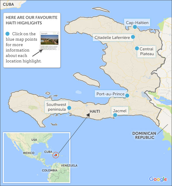 Haiti travel guide. Helping Dreamers Do