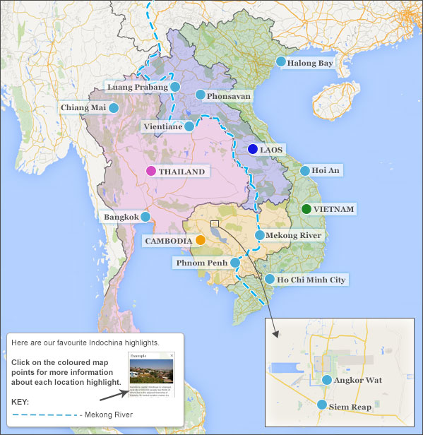 South East Asia Highlights. South East Asia Highlights And Travel  Itineraries