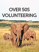 Over 50s volunteering