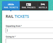 Train booking websites