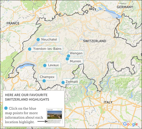 Switzerland travel guide Helping Dreamers Do