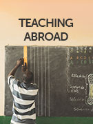 Teaching abroad