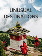 Unusual destinations
