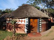 Zulu lodge, KwaZulu Natal. Photo By Richard Madden