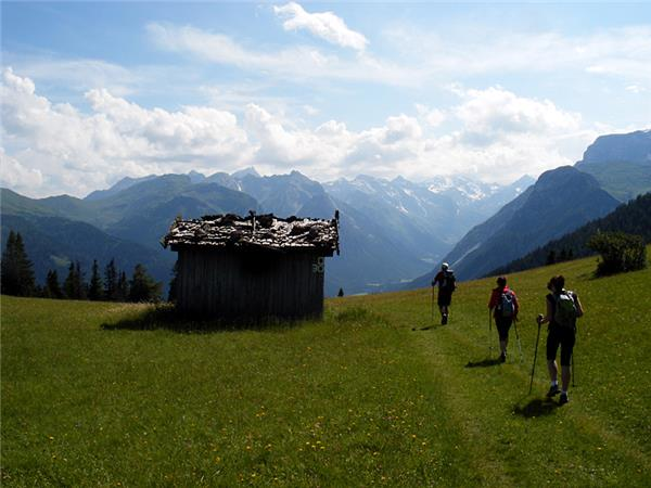 Walking vacaton in the Austrian Tyrol