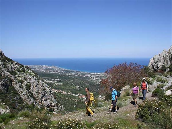 North Cyprus walking vacation