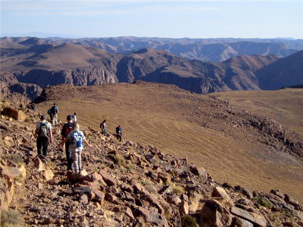 Atlas Mountains winter trekking vacation, Morocco