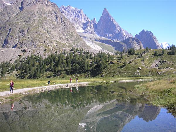 Tour du Mont Blanc self guided walking tour
