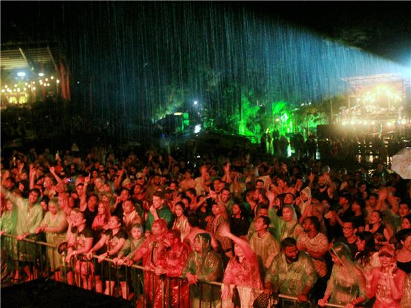 Sarawak Rainforest music festival vacation