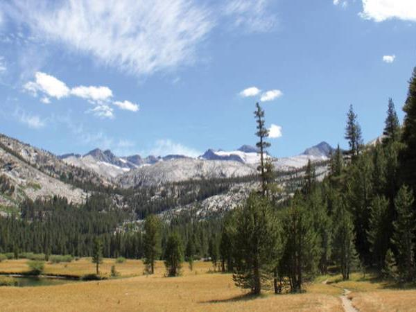 California hiking tour, John Muir Trail