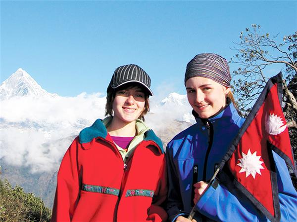 Family adventure vacation in Nepal