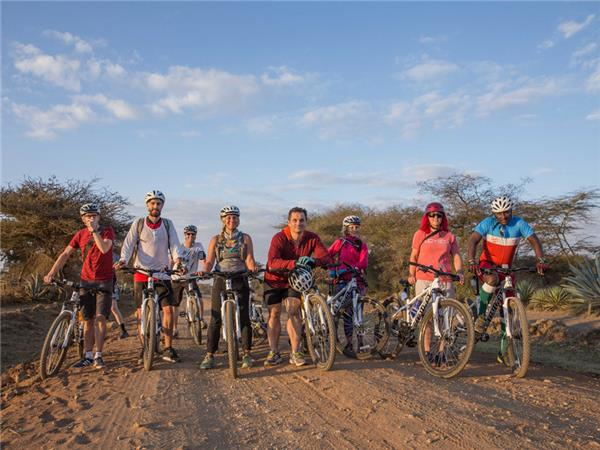 Tanzania biking vacation, explore by bike