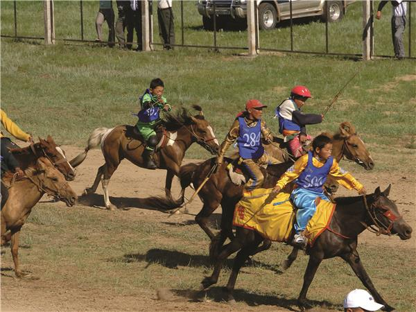 Naadam Festival vacation in Mongolia