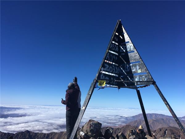 Climb Mount Toubkal walking vacation