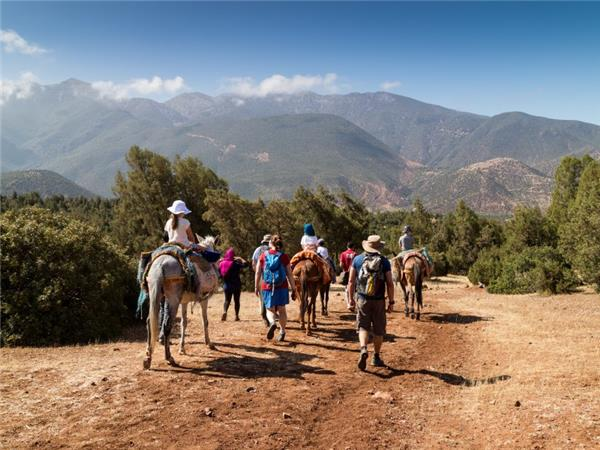 Family adventure vacation in Morocco