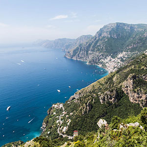 Amalfi Coast Map & highlights