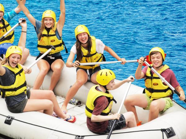 Croatia activity vacation for families with teenagers