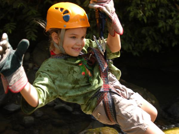 Costa Rica family activity vacation