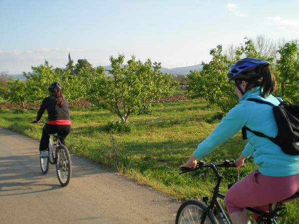 Greece biking vacation, archaeology tour