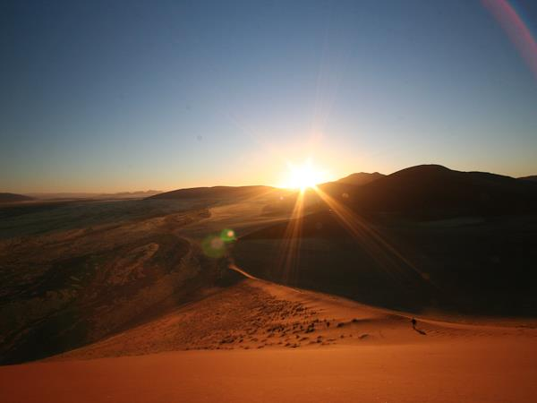 Cape to Windhoek Namib desert camping safari