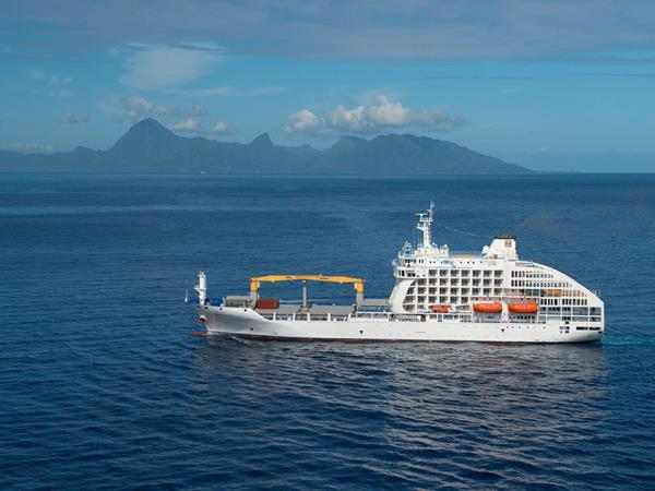 French Polynesias cruise in the South Pacific