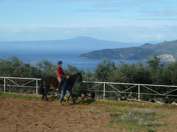 Horseriding & yoga in Greece