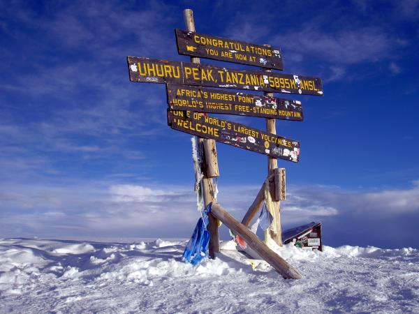 Mount Kilimanjaro trekking vacation, Machame route