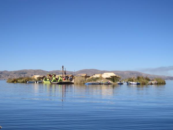 Volunteering at Lake Titicaca, Peru