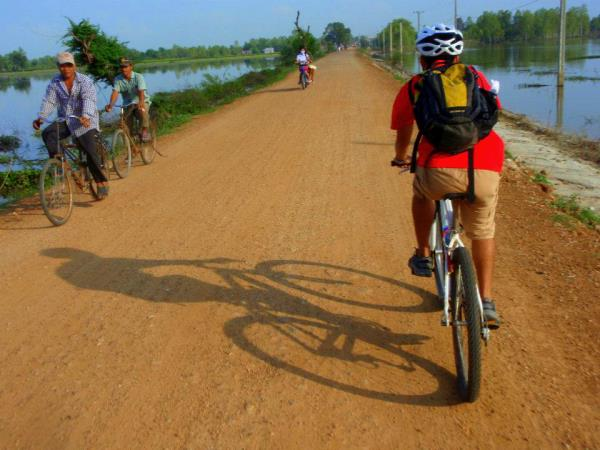 Cambodia biking tour, private departures