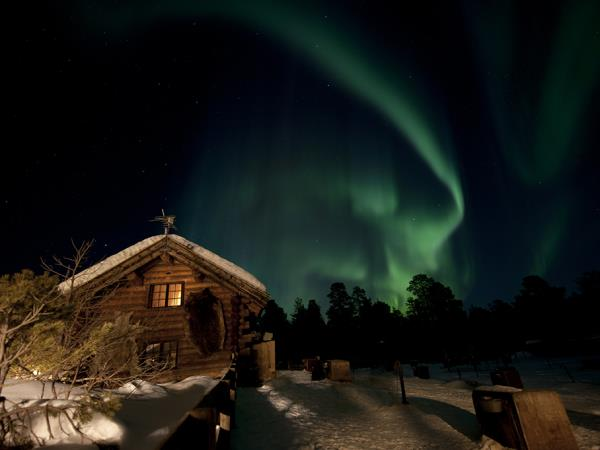Northern lights winter vacation, Norway