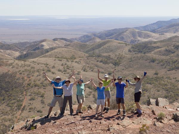 Walking holiday in Flinders Ranges, South Australia