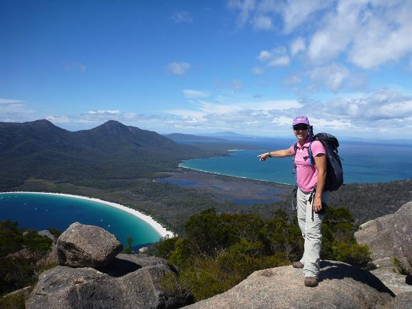 Tasmania coastal walking vacation, Australia