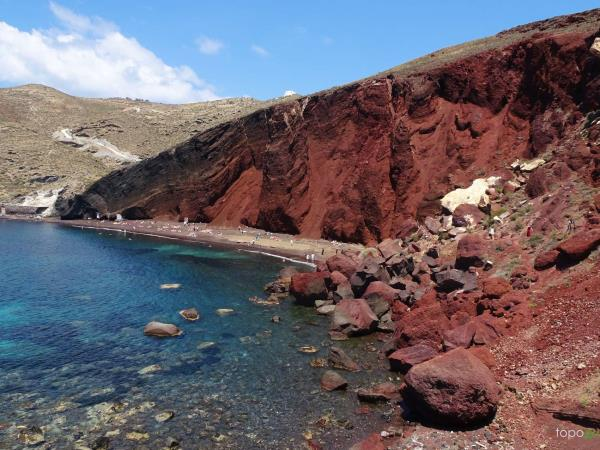 Self guided hiking vacation in Santorini and Naxos, Greece