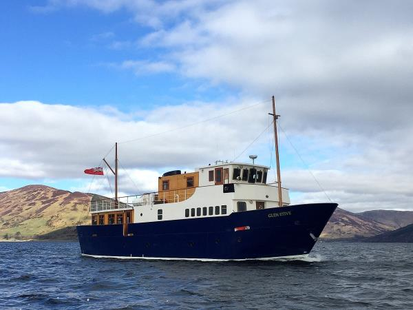 Scotland cruise, private charter