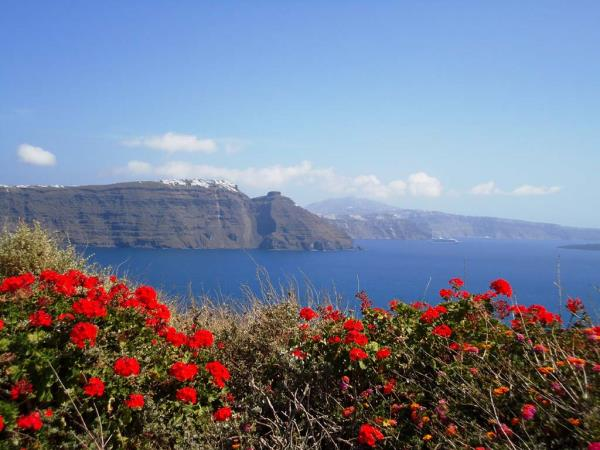 Santorini walking holiday, Greece