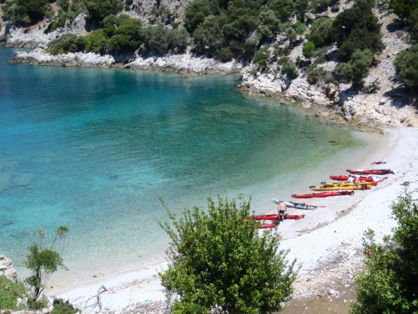 Sea kayaking in Turkey