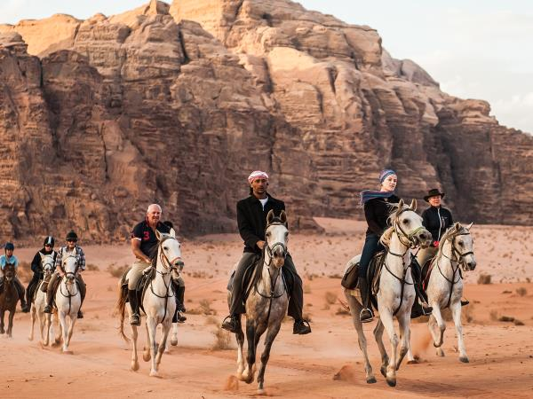 Petra and Wadi Rum horse riding vacation, Jordan