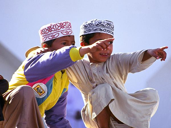 Oman family vacation, private departure