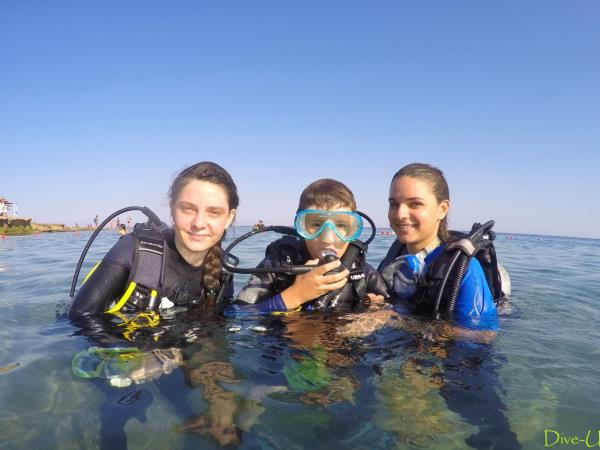 Family scuba diving vacations in the Red Sea