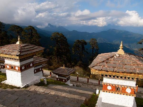 Bhutan biking vacation