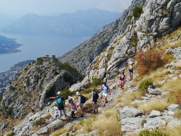 Montenegro hiking vacation